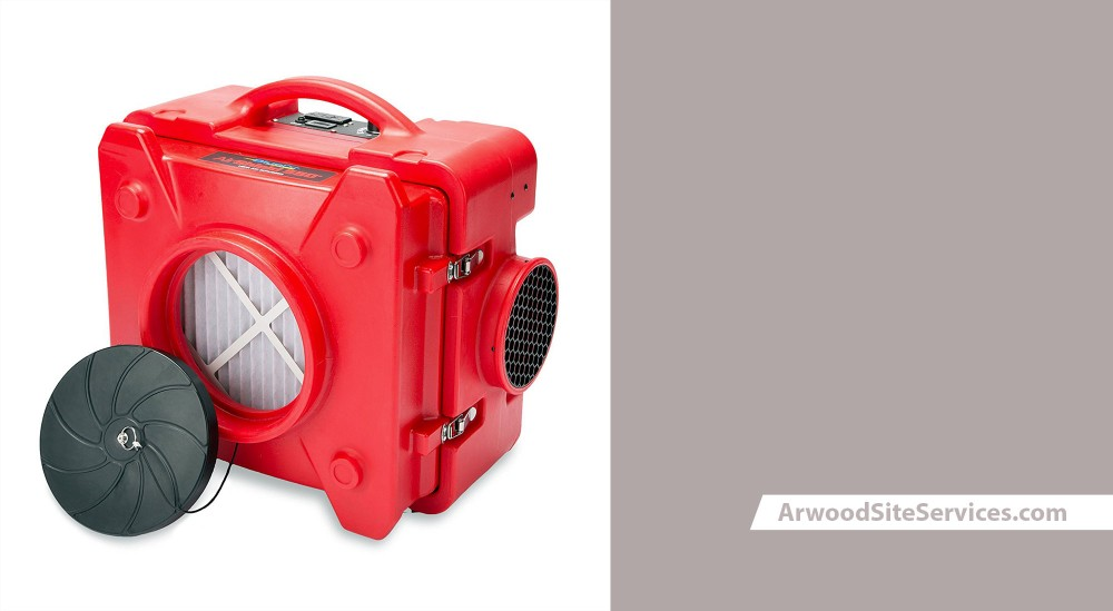 Arwood Site Services | HEPA Air Scrubbers & Dry Out Fan Rentals | (855) 713-6280