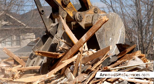 Arwood Site Services | Demolition | (855) 713-6280