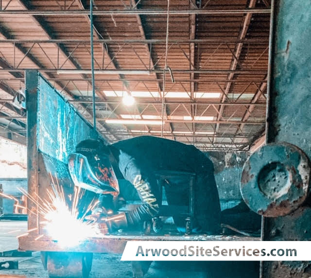 Arwood Site Services Dumpster Repair