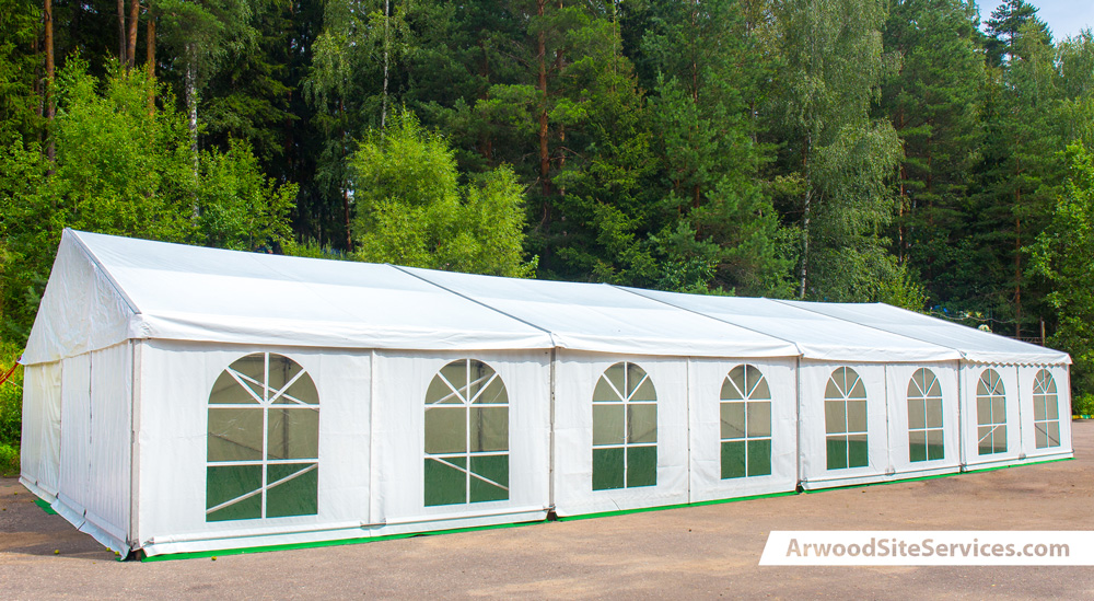 Tent Rental Services from Arwood Site Services
